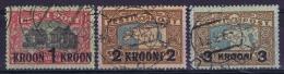 Estland:  Mi Nr 87-89 Used 1930 - Estonie