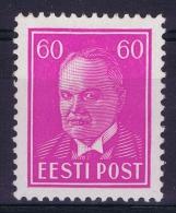 Estland:  Mi Nr 126 MH/*  1936 - Estonie
