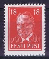 Estland:  Mi Nr 146 MH/*  1939 - Estonie