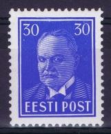 Estland:  Mi Nr 147 MH/*  1939 - Estonie