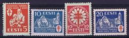 Estland:  Mi Nr 102 - 105 MH/*  1933 - Estland