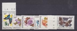 Rwanda 1965 Butterflies 6v ** Mnh (21915) - Rwanda