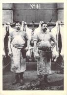 Métier (Boucherie Boucher) Deux Bouchers à La Villette REPRODUCTION (Ed. New Productions Collection Charles Henri Favrod - Artisanat