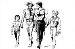 CPM Tex Willer Casale Monferrato Comics BD Zagor - Stripverhalen