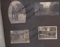 LE RONSSOY    80 SOMME  PLANCHE  DE PHOTOS ALLEMANDES CARTE PHOTO ALLEMANDE MILITARIA 14 18 PICARDIE - France