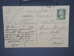 FRANCE- Entier Postal Type Pasteur De Paris Pour  Guise  En 1926       A Voir     LOT P5514 - Standard Postcards & Stamped On Demand (before 1995)