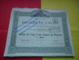 POLDERS DE L´OUEST (mont Saint Michel) 1881 - Non Classificati