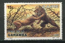 (cl 15 - P52)  Zaïre  ** N° 1150 (ref. Michel Au Dos)  - Lions  - - Zaïre