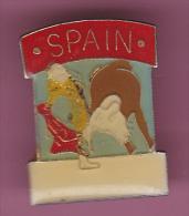 44676-Pin's.Corrida.Taureau.Espagne. - Feria