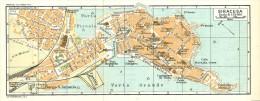 SIRACUSA ORTIGIA MINI PIANTINA CARTOGRAFIA T.C.I. 1953 - Carte Geographique
