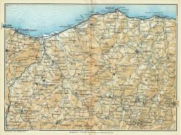 DA TERMINI IMERESE A CEFALU' LE MADONIE MINI PIANTINA CARTOGRAFIA T.C.I. 1953 - Carte Geographique
