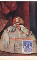 Spanien/España, Ersttagsbrief-Ersttagsansichtskarte/FDC-FDCard, La Infanta Margarita/Velazques - 196?, Siehe Scan + *) - FDC