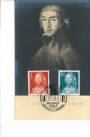 Spanien/España, Ersttagsbrief-Ersttagsansichtskarte/FDC-FDCard, II Centenario De Moratin - 1961, Siehe Scan + *) - FDC