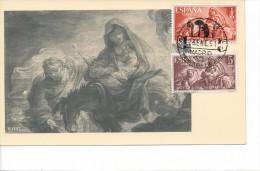Spanien/España, Ersttagsbrief-Ersttagsansichtskarte/FDC-FDCard, Dia Mundial Del Refugiado - 1961, Siehe Scan + *) - FDC