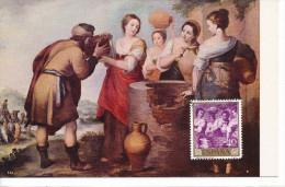Spanien/España, Ersttagsbrief-Ersttagsansichtskarte/FDC-FDCard, Rebeca Y Eliecer/Murillo - 1960, Siehe Scan + *) - FDC