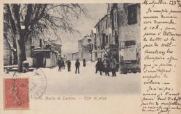 CPA - ST Martin De Londres - Effet De Neige - France