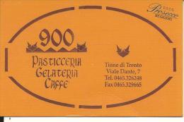 CAL010 - CALENDARIETTO 2014 - PASTICCERIA 900 - PROSECCO RUGGERI - TRENTO