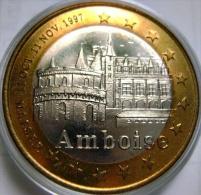 10 Euro Temporaire Precurseur De AMBOISE (Tours Et De Touraine)  1997, RRRR,, BI-Color, Nr. 29 - Euro Der Städte