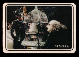 Pocket calendar - Calendrier de poche - S�rie cine - publi� au Portugal A�O:1994 - BATMAN II