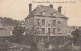 76 LONGUEVILLE Sur SCIE  CPA Coin Du VILLAGE  Ancien HOTEL De L´ ECU De FRANCE - Non Classificati