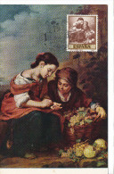 Spanien/España, Ersttagsbrief-Ersttagsansichtskarte/FDC-FDCard, Niños Con Monedas De Plata/Murillo - 1960, Siehe Scan + - FDC