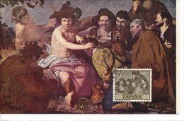 Spanien/España, Ersttagsbrief-Ersttagsansichtskarte/FDC-FDCard, Los Borrachos/Velazquez - 1959, Siehe Scan + *) - FDC
