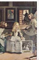 Spanien/España, Ersttagsbrief-Ersttagsansichtskarte/FDC-FDCard, Las MENINAS/Velazquez - 1959, Siehe Scan + *) - FDC