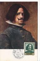 Spanien/España, Ersttagsbrief-Ersttagsansichtskarte/FDC-FDCard, Autoretrato-Selbstbildnis/Velazquez - 1959, Siehe Scan + - FDC