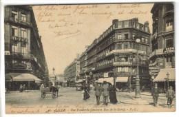 CPA LILLE (Nord) - Rue Faidherba, Ancienne Rue De La Gare - Lille