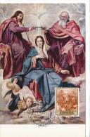 Spanien/España, Ersttagsbrief-Ersttagsansichtskarte/FDC-FDCard, La Coronacion De La Virgen/Velazquez - 1959, Siehe Scan - FDC