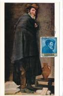 Spanien/España, Ersttagsbrief-Ersttagsansichtskarte/FDC-FDCard, Menipo/Velazquez - 1959, Siehe Scan + *) - FDC
