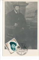 Spanien/España, Ersttagsbrief-Ersttagsansichtskarte/FDC-FDCard, IV Centenario De La Muerte De Carlos - 1958, Siehe Scan - FDC