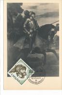 Spanien/España, Ersttagsbrief-Ersttagsansichtskarte/FDC-FDCard, IV Centenario De La Muerte De CarlosI - 1958, Siehe Scan - FDC