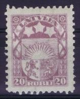Latvia Lettland: Mi Nr  86 MH/* - Lettland