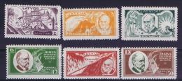 Latvia Lettland: Mi Nr 153 A - 158 A    MH/*   1930 - Lettland