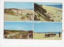 Hemsby Norfolk 1966 Postcard 554a - Angleterre