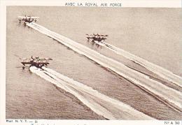 23719 Guerre 1914-18 Avec Royal Air Force -NYT 16 Dolly A360 -trois Hydravions Depart Vol Reconnaissance Avion