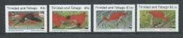 Trinidad & Tobago 1990 WWF Ibis Bird Set 4 MNH - Trinidad & Tobago (1962-...)