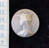 Médaille, Jeton  Bronze Argenté Prix De Tir   Debut 1900 - Francia