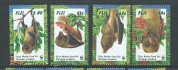 Fiji 1996 WWF Bat Set 4 MNH - Fiji (1970-...)
