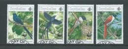 Seychelles 1996 WWF Bird Set 4 VFU - Seychelles (1976-...)