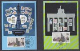 Berlin 1987 750J. Berlin 1v 2  Maximum Cards (21930) - [5] Berlijn