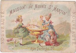 Chromo Maison Du Moine St-Martin, 50 Rue Turbigo, Paris / Fin 1800 - Début 1900 - Cromo