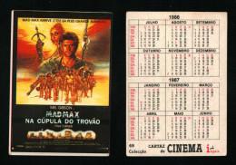 Pocket calendar - Calendrier de poche - s�rie Film - publi� au Portugal - ann�e:1986 - MADMAX