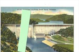 Cpa St000106 Tennessee Barrage Norris - Etats-Unis
