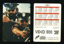 Pocket calendar - Calendrier de poche - s�rie Film - publi� au Portugal - ann�e:1987