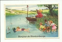 Blankenberge Bonjour ( Pêcheur ) - Blankenberge