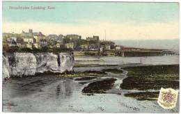 Broadstairs Looking East - Colour Postcard By Woolstone Bros - Postmark 1907 - England