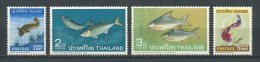 THAILANDE 1967 N° 453/456 ** Neufs  = MNH  Superbes Cote 70 € Faune Poissons Fishes Fauna Animaux - Thailand