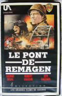 K7 VHS Le Pont De Remagen Robert Vaughn George Segal - Cassettes Vidéo VHS